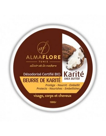 ALMAFLORE Beurre de Karité...